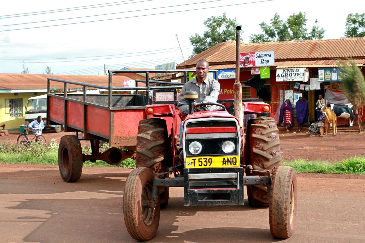 Tanzania tractor driver